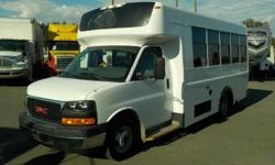 Make GMC Model Savana Year 2009 Colour White kms 329800 Trans Automatic Stock #: BC0030320 VIN: 1GDJG316991155248 2009 GMC Savana G3500 13 Passenger Bus with Wheelchair Accessibility Diesel, 6.6L, 8 cylinder, 2 door, automatic, RWD, cruise control, air