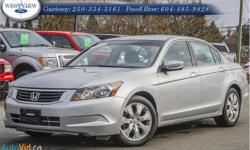 Make Honda Model Accord Sedan Year 2009 Colour Silver kms 126671 Trans Automatic Price: $11,827 Stock Number: 15272A Interior Colour: Black Cylinders: 4 Fuel: Regular Unleaded Sought after Honda Accord nicely equipped with sunroof.Accident free,safety