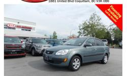 Trans Automatic 2009 Kia Rio with tinted rear windows, Bluetooth, CD player, AM/FM stereo, rear defrost and so much more! STK # 90008A DEALER #31228 Need to finance? Not a problem. We finance anyone! Good credit, Bad credit, No credit. We handle car loans