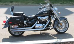 2009 Suzuki Boulevard C90T , 1500 CC, Black and Silver in color. New Cobra Slashdown Pipes,Power Commander Fuel Management System, K&N Air Filter, Upgraded Mustang Seats. Would like to trade for a Snowmobile of equal value.