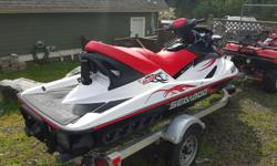 Just in time for Summer!! Hours of fun on the amazing machine!! $9,000 OBO includes 2009 Wake 155 Seadoo (less than 50 hrs), almost new trailer, cover, three person tube, tow rope and 3 life jackets (various sizes). Text me and I will call you back 403