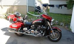 $ 16,500.00 OBO Factory warranty until 2014 (unlimited milage). Over $5,000.00 in accessories. Garmin Zumo 550 GPS, Men and Ladies Leather Jackets and chaps, Helmets with microphone and speakers for stereo, cb radio and intercom. Trailer hitch. Extra