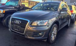 Make Audi Model Q5 Year 2010 Colour Grey kms 108000 Trans Automatic Automatic AWD 108,*** KM 3.2L V6 Local BC Vehicle No Accidents Heated Leather Seats Sunroof Satellite Radio Equipped Roof Rack Auto Headlights Dual Climate Control $17,500** Stock # 2977