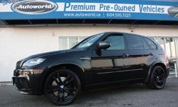 Make BMW Model X5 M Year 2010 Colour Black kms 126183 Trans Automatic 2010 BMW X5 M Local North Vancouver Vehicle, Full Service History, One Owner, 555 HP! Navigation, Back Up Camera, Head Up Display, Side And Front Parking Camera, Bluetooth, Rear DVD,