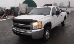 Make Chevrolet Model Silverado 2500HD Year 2010 Colour White kms 222588 Trans Automatic Stock #: BC0026848 VIN: 1GC4KXBG6AF113125 2010 Chevrolet Silverado 2500HD LT1 Crew Cab Regular Box 4WD, 6.0L, 8 cylinder, 4 door, automatic, 4WD, 4-Wheel AB, cruise