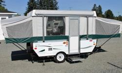 Coleman Tent Trailers are some of the best on the market, and they take great pride in their innovative design and quality construction. Coleman Tent Trailers come with sectioned, breathable Sunbrella tenting, which is a leading marine-grade fabric, so it