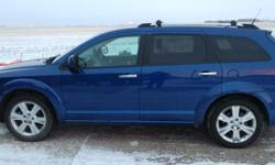Make Dodge Model Journey Year 2010 Colour Blue kms 176000 Trans Automatic 2010 Dodge Journey R/T 7 seats - leather, DVD, Front Heated Seats, Sun Roof, Back-Up Camera, remote start, tires are in good shape. We just replaced the right rear knuckle in
