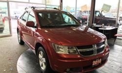 Make Dodge Model Journey Year 2010 kms 134450 Trans Automatic Price: $11,900 Stock Number: D6698B VIN: 3D4PG5FV3AT140335 Interior Colour: Black Engine: 3.5L High Output V6 24V MPI Fuel: Gasoline Fully loaded. Power seats. Keyless entry. Seats 7. 3.5L V6.