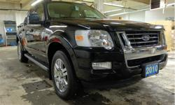 Make Ford Model Explorer Sport Trac Year 2010 Colour Black kms 95135 Trans Automatic Price: $22,995 Stock Number: 7830A VIN: 1FMEU5D88AUF00467 Interior Colour: Beige Engine: 4.6L - 8 Cylinder Cylinders: 8 Four wheel drive, leather upholstery, heated