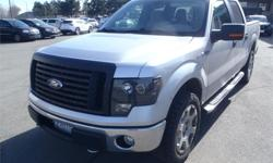 Make Ford Model F-150 Year 2010 Colour Silver kms 123205 Price: $18,850 Stock Number: BC0027021 Interior Colour: Grey Cylinders: 8 Fuel: Gasoline 2010 Ford F-150 XLT SuperCrew 5.5-ft. Bed 4WD, 5.4L, 8 cylinder, 4 door, automatic, 4WD, 4-Wheel ABS, cruise