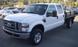 Make Ford Model F-350 SD Year 2010 Colour White kms 133385 Price: $19,750 Stock Number: BC0027775 Interior Colour: Grey Cylinders: 8 Fuel: Gasoline 2010 Ford F-350 SD XLT Crew Cab Long Bed 4WD, 5.4L, 8 cylinder, 4 door, automatic, 4WD, 4-Wheel ABS, cruise