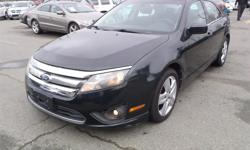 Make Ford Model Fusion Year 2010 Colour Black kms 161252 Price: $5,860 Stock Number: BC0026758 Interior Colour: Black Cylinders: 4 Fuel: Gasoline 2010 Ford Fusion SE, 2.5L, 4 cylinder, 4 door, automatic, FWD, 4-Wheel ABS, cruise control, AM/FM radio, CD