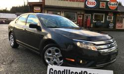 Make Ford Model Fusion Year 2010 Colour Black kms 173579 Trans Automatic Looking for that stylish vehicle to commute or haul the family around with? Look no further!! This Fusion sports a 2.5L 4 cylinder engine packing over 190 hp, automatic transmission,