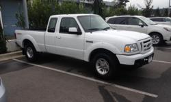 Make Ford Model Ranger Year 2010 Colour White kms 112500 Trans Manual 2010 Ford Ranger Sport 4.0L RWD 5spd. Super clean local trade in. Excellent Condition, No accident history. Fully inspected and detailed. Great little work or play truck Tow pkg Bed