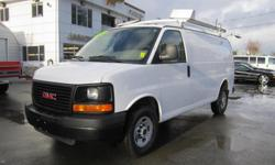 Make GMC Model Savana Cargo Van Year 2010 Colour White kms 231693 Trans Automatic A/C,Auto, Cruise, ABS, Am/Fm, Keyless, Power Locks/Steering, Tilt #1487 Financing Available 3 Month Warranty On All Our Vehicles