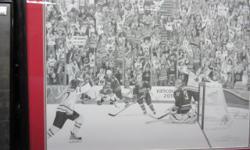 The Golden Goal limited edition FRAMED print