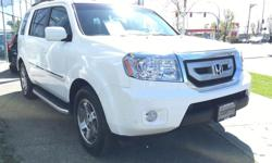 Make Honda Model Pilot Year 2010 Colour White kms 8899 Trans Automatic Gorgeous local 2010 Honda Pilot just traded in! Fully appointed Touring edition with Rear Seat Entertainment and Navigation. Loaded...leather, sunroof, third row seating, parking