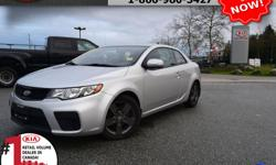 """Make Kia Model Forte Year 2010 Colour Grey Trans Manual We are Canada's #1 KIA Retail Volume Dealer. Our volume purchasing power saves you money! Our motto """"we can replace vehicles, we cannot replace our customers!"""" is the reason we sell more new Kia's"""