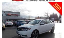 2010 Kia Forte LX comes with alloy wheels, power locks/windows/mirrors, steering wheel media controls, Bluetooth, CD player, A/C, AM/FM stereo, AUX/USB/iPod connections, rear defrost and so much more! STK # C5017A DEALER #31228 Need to finance? Not a