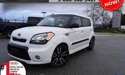 """Make Kia Model Soul Year 2010 Colour White Trans Automatic We are Canada's #1 KIA Retail Volume Dealer. Our volume purchasing power saves you money! Our motto """"we can replace vehicles, we cannot replace our customers!"""" is the reason we sell more new Kia's"""