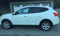 Make Nissan Model Rogue Year 2010 Colour Pearl White kms 96000 2010 Nissan Rogue SL. Pearl White. Automative, power windows, power door locks, air conditioning, heated seats, CD and Aux. Excellent condition, well maintained, spacious family vehicle. OBO