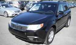 Make Subaru Model Forester Year 2010 Colour Black kms 20112 Price: $17,870 Stock Number: BC0027827 Interior Colour: Black Cylinders: 4 Fuel: Gasoline 2010 Subaru Forester 2.5XS, 2.5L, 4 cylinder, 4 door, automatic, AWD, 4-Wheel ABS, cruise control, air