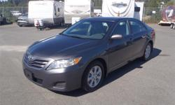 Make Toyota Model Camry Year 2010 Colour Grey kms 176622 Price: $9,490 Stock Number: BC0027682 Interior Colour: Grey Cylinders: 6 Fuel: Gasoline 2010 Toyota Camry LE V6 6-Spd AT, 3.5L, 6 cylinder, 4 door, automatic, FWD, 4-Wheel ABS, cruise control, air