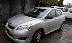 Make Toyota Model Matrix Year 2010 Colour Silver kms 127000 Trans Automatic Low kilometer (127000), automatic, fully loaded, local, 2 owners, rebuilt status ( 2 left side door replaced in 2011), looks and drives perfect, free 3 month extendable