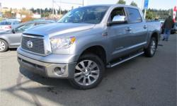Make Toyota Model Tundra Year 2010 Colour Grey kms 24536 Trans Automatic Price: $39,995 Stock Number: TD109A Interior Colour: Black