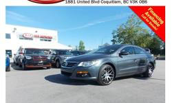 Trans Automatic 2010 Volkswagen PASSAT CC has alloy wheels, fog lights, power locks/windows/mirrors, leather interior, sunroof, steering wheel media controls, A/C, CD player, AM/FM stereo and so much more! STK # 63062A DEALER #31228 Need to finance? Not a