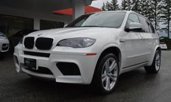Make BMW Model X5 M Year 2011 Colour White kms 67001 Trans Automatic The sports car feel in a reliable SUV body with the 555 Horsepower Twin-Turbo V8 engine! Absolutley loaded with options: Navigation, Backup Camera, Heated Seats & Steering Wheel, Rear