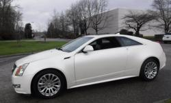 Make Cadillac Model CTS Year 2011 Colour Whiye kms 59722 Trans Automatic Stock #: BC0030822 VIN: 1G6DS1ED5B0112053 2011 Cadillac CTS Premium AWD Coupe with Navigation, 3.6L, 8 cylinder, 2 door, automatic, AWD, 4-Wheel AB, cruise control, air conditioning,