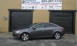 Make Chevrolet Model Cruze Year 2011 Colour Grey kms 120510 Trans Automatic Price: $9,888 Stock Number: L8827 VIN: 1G1PH5S97B7148827 Engine: 138HP 1.4L 4 Cylinder Engine Fuel: Gasoline 2011 Chevrolet Cruze LTZ! Buying a vehicle can be a stressful time. WE