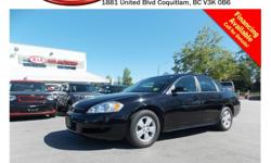 Trans Automatic 2011 Chevrolet Impala LT has alloy wheels, power locks/windows/mirrors, CD player, AM/FM stereo and so much more! STK # 81617A DEALER #31228 Need to finance? Not a problem. We finance anyone! Good credit, Bad credit, No credit. We handle