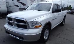 Make Dodge Model 1500 Year 2011 Colour White kms 84693 Price: $17,900 Stock Number: BC0027386 Interior Colour: Black Fuel: Gasoline 2011 Dodge Ram 1500 SLT Quad Cab Short Box 4WD, 5.7L, 4 door, automatic, 4WD, 4-Wheel AB, cruise control, air conditioning,