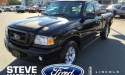 Make Ford Model Ranger Year 2011 Colour Black kms 72048 Trans Manual Price: $19,995 Stock Number: 165911 Interior Colour: Grey Engine: V6 Cylinder Engine This loaded Ranger has all the options and low KMS for the year. With a 4.0, V6, you wont want to