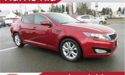 Make Kia Model Optima Year 2011 Colour Racing Red kms 37657 Trans Automatic Price: $14,995 Stock Number: K18-125A VIN: KNAGN4A77B5141928 Interior Colour: Black Leather Engine: 4 Cylinder Fuel: Gasoline Just Arrived! Awesome Condition. Accident Free. One