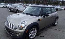Make MINI Model COOPER Year 2011 Colour Tan kms 92534 Price: $10,980 Stock Number: BC0027070 Interior Colour: Black Cylinders: 4 Fuel: Gasoline 2011 Mini Cooper Base Coupe, 1.6L, 4 cylinder, 2 door, automatic, FWD, 4-Wheel ABS, cruise control, air