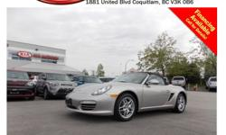Trans Manual The Porsche Boxster is perhaps the most practical mid-engine convertible sports car available today. The Boxster uses a 2.9-liter flat-6 with 255 horsepower and 214 pound-feet of torque. The cabin has plenty of room and can accommodate tall