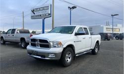 Make Ram Model 1500 Year 2011 Colour White kms 180000 Trans Automatic Price: $18,978 Stock Number: 3030 VIN: 1D7RV1GT9BS580778 Interior Colour: Black Engine: 5.7L V8 Engine Configuration: V-shape Cylinders: 8 Fuel: Premium Unleaded NO ACCIDENTS! BC