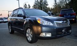 Make Subaru Model Outback Year 2011 Colour Grey kms 59848 Trans Automatic *NEW YEAR SALE* - $1,000 OFF - The 2011 Subaru Outback is ready when you are. Along the way, superior all-road/all-weather capability comes together with a surprising level of