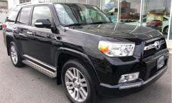 Make Toyota Model 4Runner Year 2011 Colour Black kms 152932 Trans Automatic Price: $27,888 Stock Number: 182273A VIN: JTEBU5JR7B5037698 Engine: V-6 cyl Fuel: Regular Unleaded Was $31,995 Now $27,888...Full Toyota Service History Local To Victoria...Every