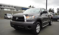 Make Toyota Model Tundra Year 2011 Colour Grey kms 62393 Trans Automatic Price: $32,995 Stock Number: D20543 Interior Colour: Black Engine: 5.7L DOHC SMPI 32-valve i-Force V8 engine -inc: du Cylinders: 8 Fuel: Gasoline Accident Free, NEW Rear Brake