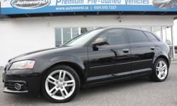 Make Audi Model A3 Year 2012 Colour Black kms 84291 Trans Automatic 2012 Audi A3 2.0T Quattro Local Victoria Vehicle, No Accidents, Rare 2.0T Quattro, S-LINE, Automatic, Bluetooth, Panoramic Sunroof, Heated Seats, power Seat, Leather, 17 Inch Wheels,