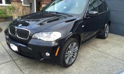 Make BMW Model X5 xDrive35i Year 2012 Colour Black kms 55000 Trans Automatic Selling our 2012 BMW X5 Xdrive35i One owner, local vehicle Only 55,000 km This BMW is fully loaded with every possible option. M Sport and Executive packages include: -20'' M