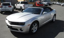 Make Chevrolet Model Camaro Year 2012 Colour Silver kms 51541 Price: $22,800 Stock Number: BC0027794 Interior Colour: Black Cylinders: 6 Fuel: Gasoline 2012 Chevrolet Camaro Convertible LT, 3.6L, 6 cylinder, 2 door, automatic, RWD, 4-Wheel ABS, cruise