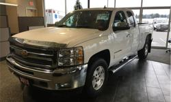 Make Chevrolet Model Silverado 1500 Year 2012 Colour White kms 82300 Price: $24,990 Stock Number: D6701A VIN: 1GCRKSE76CZ121330 Engine: Vortec 5.3L V8 Flex Fuel SFI Extended cab. Fold up rear seats. 4X4. Seats 6. Bed liner. At Duncan Dodge we treat each