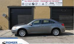 Make Chrysler Model 200 Year 2012 Colour Grey kms 81844 Trans Automatic Price: $10,388 Stock Number: HA8161 VIN: 1C3CCBBG8CN218161 Engine: 3.6L V6 Cylinder Engine Fuel: Gasoline Heated Seats, Remote Start, SiriusXM, Aluminum Wheels, Fog Lamps! Check out