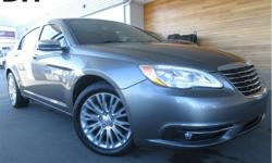 Make Chrysler Model 200 Year 2012 Colour Grey kms 99047 Trans Automatic Price: $10,498 Stock Number: CCX1769C VIN: 1C3CCBCG0CN266865 Engine: 3.6L V6 VVT Leather Seats, Steering Wheel Controls, Sunroof, Bluetooth, Navigation! This 2012 Chrysler 200 is gray
