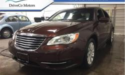 Make Chrysler Model 200 Year 2012 Colour Brown kms 66922 Trans Automatic Price: $9,995 Stock Number: DE2900A VIN: 1C3CCBAB8CN241347 Engine: 173HP 2.4L 4 Cylinder Engine Fuel: Gasoline The 2012 Chrysler 200 offers a lot for an affordable midsize car.This